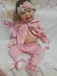Título do anúncio: Bebe reborn com placa de barriga tamanho de bebê  de 5 meses