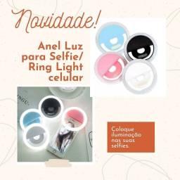 Ring Light- Clipe/anel de Luz para celular