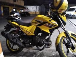 Título do anúncio: Vendo moto com a vaga fazer 160