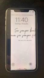 iphone xr 128 gb branco com nota fiscal de procedencia, barbada