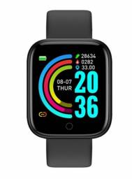 Y68 D20 Relógio Smart Watch com Bluetooth USB com Monitor Cardíaco Smartwatch