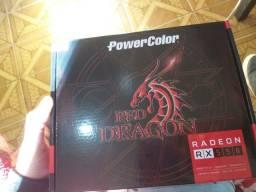 Título do anúncio: Placa de vídeo RED Dragon 4GB gddr5