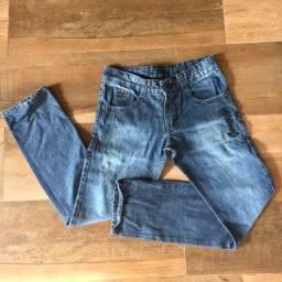 Calça Jeans masc, 12 anos, usada uma vez