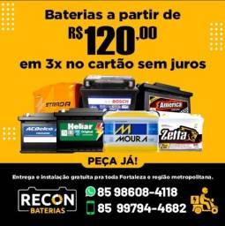 Título do anúncio: Baterias Automotivas para Sandero 2018 - (60AH)