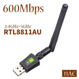 Adaptador Wifi Dual Band 600mb 2.4/5ghz