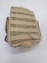 Bolsa para perna cor caqui - nova