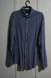 Camisa Social Preston Field Tamanho 4/G