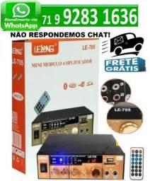 Mini Modulo Amplificador De Audio Bluetooth Karaoke Lelong Le-705