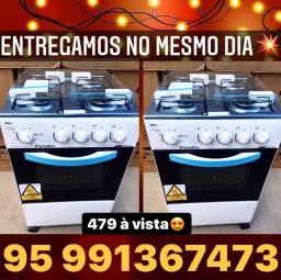 Título do anúncio: Fogão Novo Zerado Promoção frete grátis Entregamos hoje