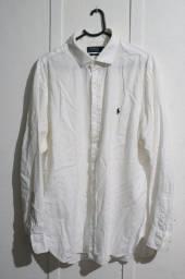 Camisa Social Polo Ralph Lauren Original Tamanho 17-34-35 XXL