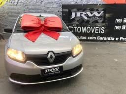 Renault Sandero Authentique 1.0 Manual Flex 2018 Impecável !!! Pneus Novos !!!