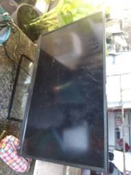 Smarte tv 32 pole com tela quebrada por 180