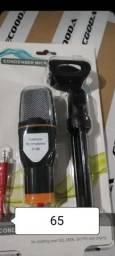 Microfone condesandor