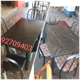 Título do anúncio: Mesa 4 cadeiras, Nova