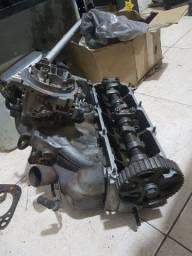 Cabeçote, carburador, coletor admissao AP 1.8 alcool