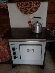 Fogão a gás estilo fogão a lenha