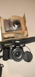 Camera digital nikon e kodak