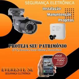 Título do anúncio: Evereste Segurança Eletrônica