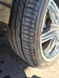 Rodas + pneus