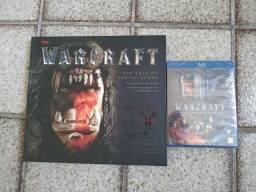Artbook + Blu-ray Warcraft lacrado
