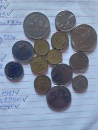 Vendo lote de moedas brasileiras