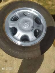 Roda astra 99 com pneu 185/70 r14