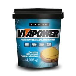 Título do anúncio: Pasta de Amendoim VitaPower tradicional 1,005