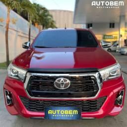 Título do anúncio: Toyota Hilux blindada 2016 srx