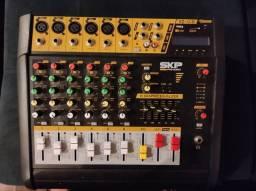 Mesa de som SKP pro audio VZ-60II