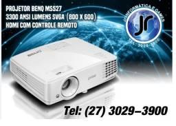 Projetor Multimídia Benq MS550 - 3600 Lmens Svga 2X HdMI