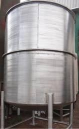 Título do anúncio: Tanque encamisado em aço inox 304, volume 10.000 litros