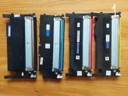 Título do anúncio: Kit Toner Compatível  Samsung Clt-K406S Clt-C406S Clt-M406S
