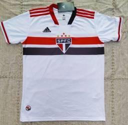 Título do anúncio: Camisa São Paulo Adidas Temp 2021 Entrego