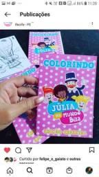 Livrinhos para colorir