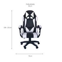 Título do anúncio: Cadeira Gamer Resident Preta e Branca