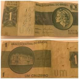 Título do anúncio: Cédula de 1 Cruzeiro