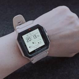 Relógio inteligente Zeblaze ares à prova d'água batimento pressão calorias
