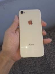 Título do anúncio: Iphone 8 vitrine Gold