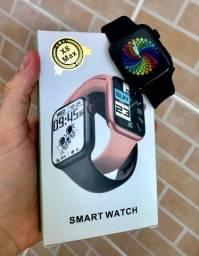 Título do anúncio: PROMOÇÃO! Smartwatch x8 max - faz e recebe ligações! Entregamos em toda Manaus!