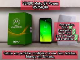 VENDO Moto G7 Power R$750,00<br>