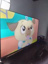 Smart tv  50 polegadas + Playstation 4
