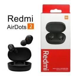 Título do anúncio: Fones de Ouvido Xiaomi Redmi AirDots 2 - Novo/Lacrado!