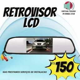Retrovisor LCD