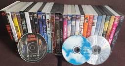 filmes (38 DVDS e 2 CDS por $295) vendo somente o lote