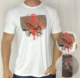 Camisetas masculinas de várias marcas e originais