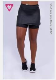 Short saia cirre black M/M