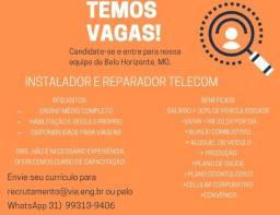 Título do anúncio: Instalador e Reparador Telecom