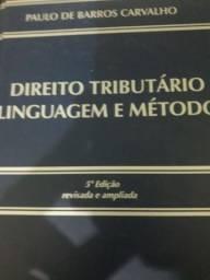 Livro direito tributário linguagem e método