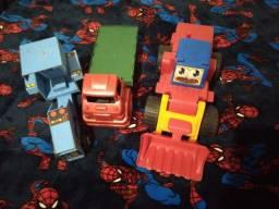 3 carrinhos