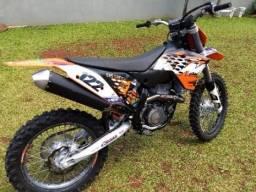 Ktm Sx -F 505 zerada c/ 207:hs de uso - 2008